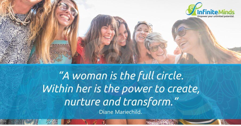 Women are full circles